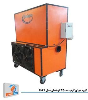 کوره هوای گرم 250000 گرماسان مدل HA1