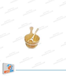سطل و ملاقه چوبی هایپرپول