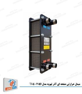 مبدل حرارتی صفحه ای آذر تهویه با ظرفیت 200000