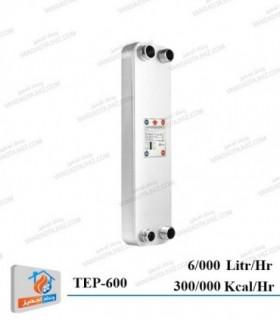 مبدل حرارتی صفحه ای کائوری مدل TEP-600