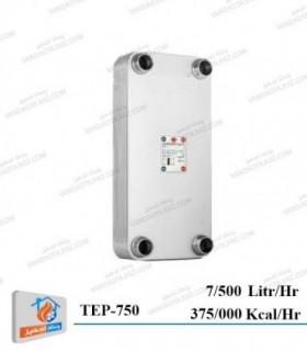 مبدل حرارتی صفحه ای کائوری سری K مدل TEP-750